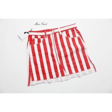 Spódnica dżinsowa mini Glamorous