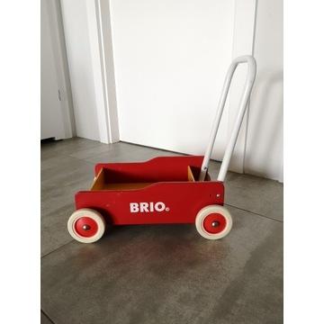 Wózek drewniany pchacz do nauki chodzenia...