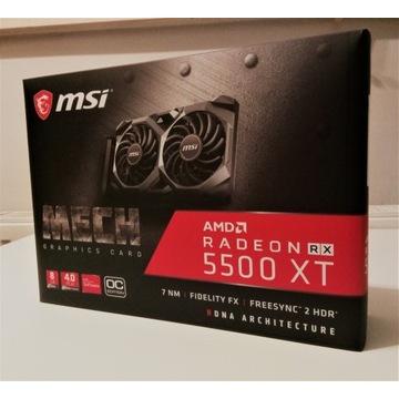 Karta graficzna MSI Radeon RX 5500 XT MECH 8G OC 8
