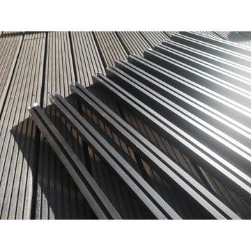 Profile montażowe fotowoltaika 40x40 2,3m CZARNE