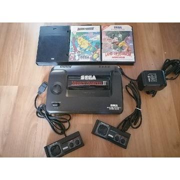 Sega master system 2 plus 3 gry