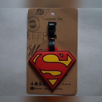 Zawieszka Superman logo na bagaż orginal