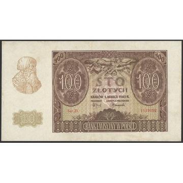 100 Złotych 1940 1119052