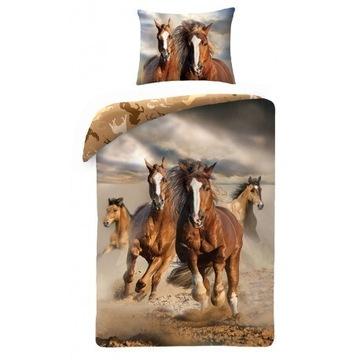 Pościel dziecięca konie/koń 140x200