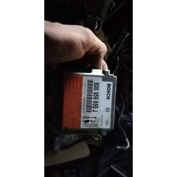Sterownik sensor airbag 8D0959655 audi a4 b5 lift