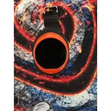 Smartwatch Garett GPS 2 czarno-pomarańczowy