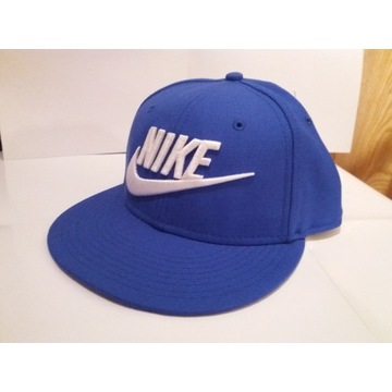Czapka Snapback Nike niebieska z logiem