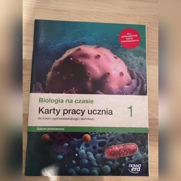 Biologia na czasie 1. Karty pracy. z.p.