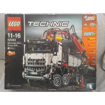 NOWY Lego Technic 42043 Mercedes Benz Arocs 3245