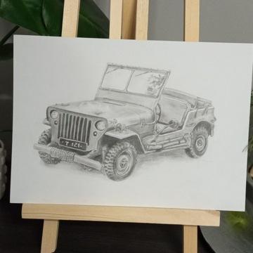 Rysunek _jeep A4