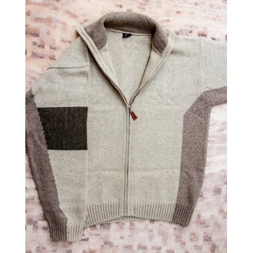 Sweter rozpinany  3XL