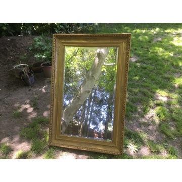Stare duże lustro o wymiarach 96x57 (119x80x6,5)cm
