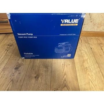 Nowa Pompa próżniowa VALUE V-I260Y-R32 142l/min R3