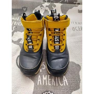 Buty zimowe, Reserved chłopięce, r. 34