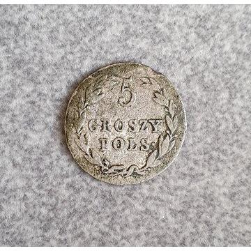 5 Groszy Polskich z 1819 roku