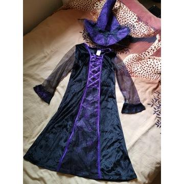 Strój kostiumowy dla dziewczynki 5-6 lat 116 cm