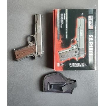 Wiatrówka Swiss Arms P1911 full metal blow back