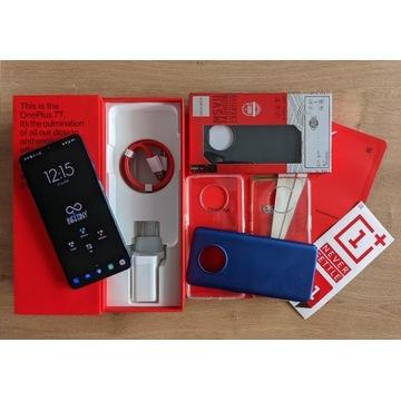 OnePlus 7T 8/128 GB błękitny, gwarancja + gratisy!