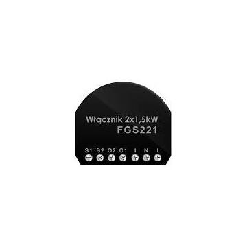 Fibaro Relay Switch 2x1,5kW FGS-221