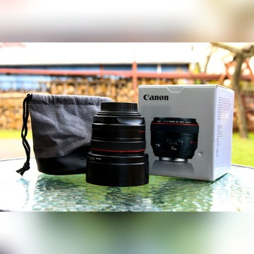 Obiektyw Canon 50mm 1.2 L