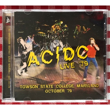 AC/DC Live '79 - Towson State College, Maryland