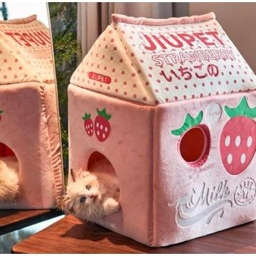 domek legowisko dla kota i psa