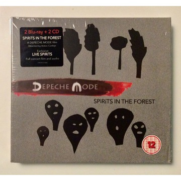 Depeche Mode - Spirits In The Forest: 2 BR + 2 CD!