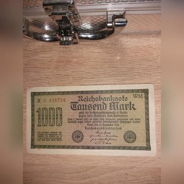 Banknot 1000 marek. 1922r.Nowy.