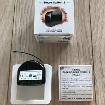 Fibaro Single Switch 2 FGS-213 EU v3.2 Z-Wave+