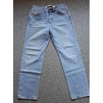 Spodnie jeansy DIESEL size 33  Pas 78 cm OKAZJA