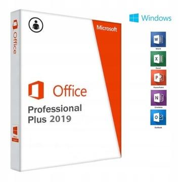 Microsoft Office Pro Plus 2019 HP DELL LENOVO PL