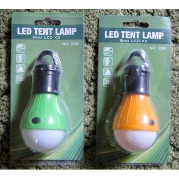 Lampa kempingowa latarka LED lampka do namiotu