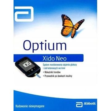 Ultrapłaski Optium Xido Neo GLUKOZA + KETON
