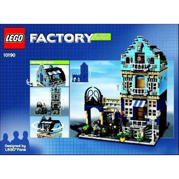 Lego 10190 Factory, unikat, komplet,  BOX !