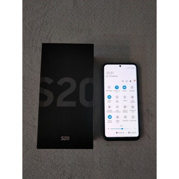 Samsung Galaxy S20 4G jak nowy. Folia. Gwarancja.