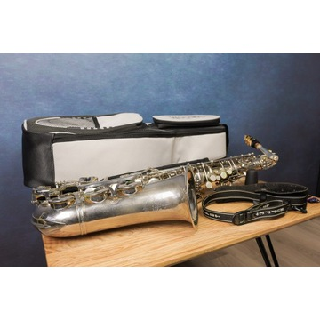 Saksofon Altowy B&S niemiecki z futerałem