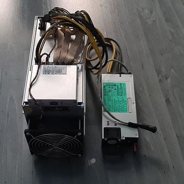Antminer Bitmain L3+ (504 Mh) + PSU