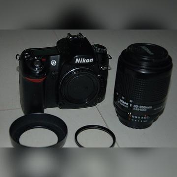 Nikon D80 aparat fotograficzny