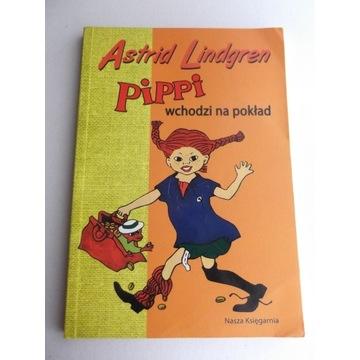 Astrid Lindgren - Pippi wchodzi na pokład