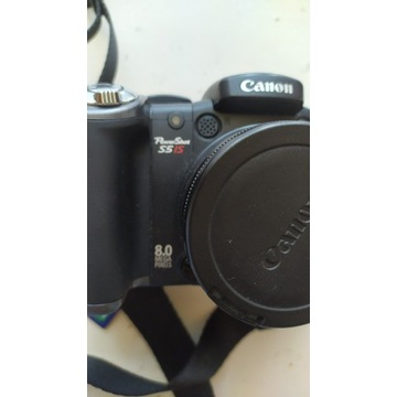CANON PowerShot S5 IS aparat cyfrowy