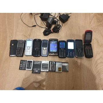 Stare telefony duży zestaw