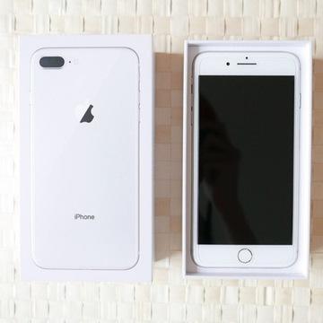 Apple iPhone 8 Plus Silver / Biały 64GB   FVAT 23%