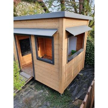 Domek ogrodowy dla dzieci drewniany