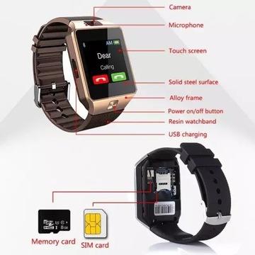 Smartwatch - polskie menu
