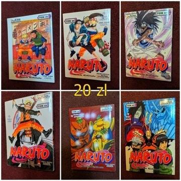 mangi Naruto - tom 16, 22, 27, 33, 44, 62