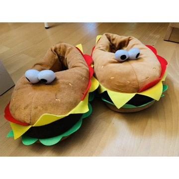 Kapcie hamburgery H&M rozm. 36-37