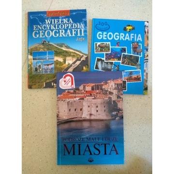 Książki encyklopedie geograficzne geografia