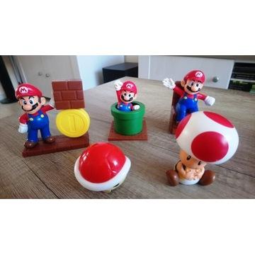 Zestaw 5 zabawek Super Mario z McDonalds