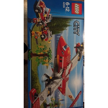 LEGO City 4209 duży samolot