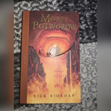 Percy Jackson Morze Potworów Rick Riordan